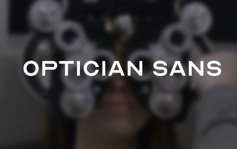 Optician Sans