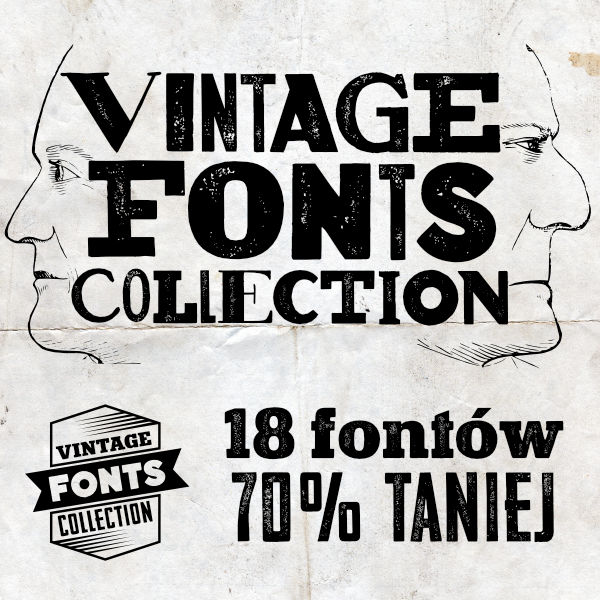 Vintage Font Collection - taniej o 70%